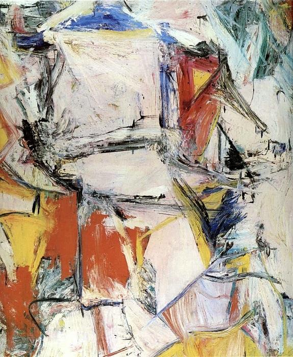 Обмен. Виллем де Кунинг, 1955 год. | Фото: therichest.com.