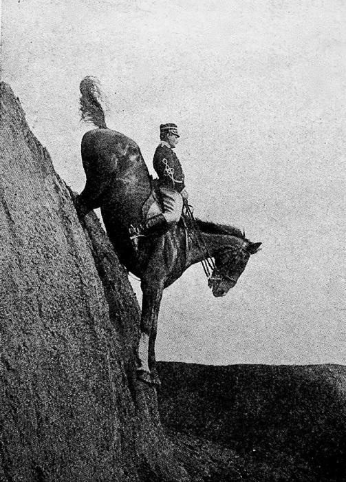 Капитан Federico Caprilli - итальянский кавалерийский офицер, 1906 год.