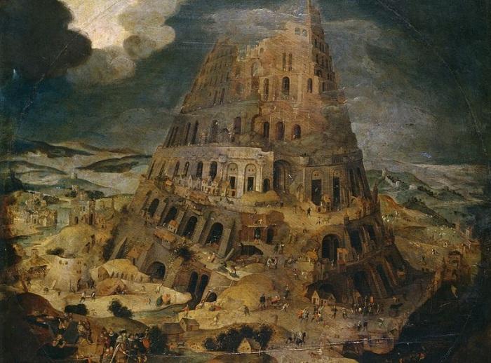Строительство Вавилонской башни. P. Bruegel the Younger. | Фото: diletant.media.