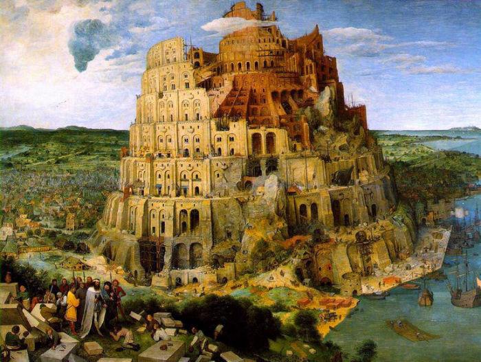 Вавилонская башня. Брейгель Старший, 1563 год.| Фото: terra-z.ru.