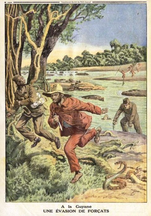 Сложная жизнь заключенных часто подталкивала их к побегу. | Фото: pinterest.com.