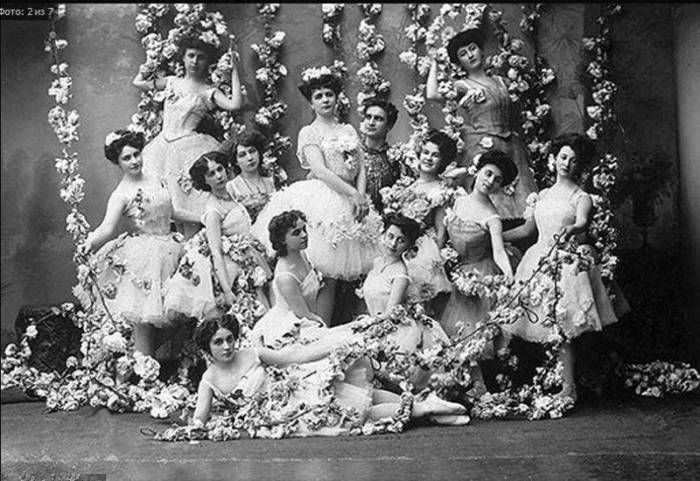 Участницы балета «Золотая рыбка». | Фото: liveinternet.ru.