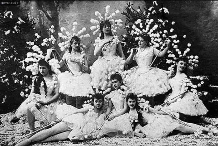Блистательные балерины XIX века. | Фото: liveinternet.ru.