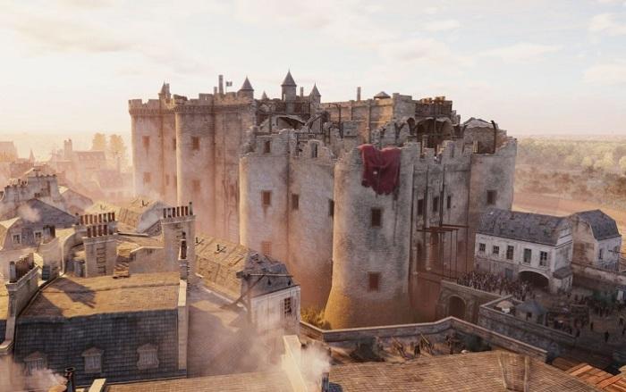 Бастилия - французская тюрьма. | Фото: yarvitto.com.