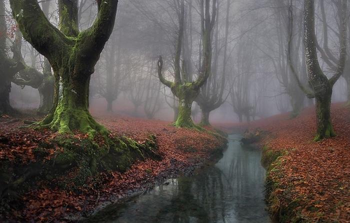 Мистический пейзаж в Испании.