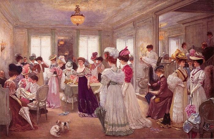 Пять часов в Paquin's. Автор: Henri Gervex, 1906 год. | Фото: fiveminutehistory.com.