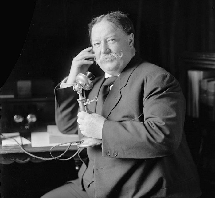 Уильям Говард Тафт — 27 президент США, 1908 год. | Фото: fiveminutehistory.com.