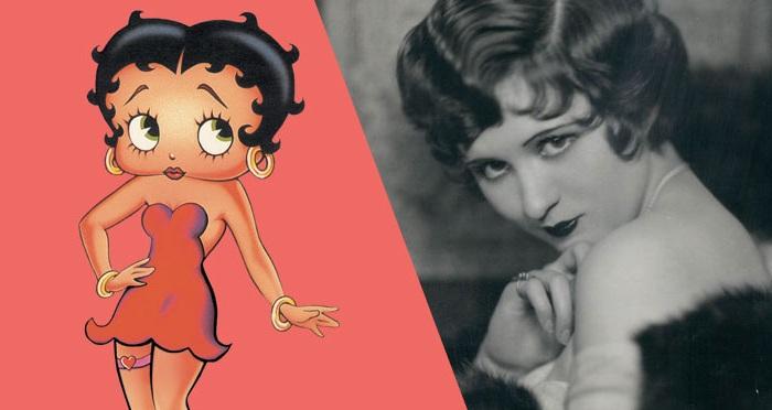 Мультяшного персонажа Betty Boop срисовали с певицы Helen Kane. | Фото: static1.squarespace.com.