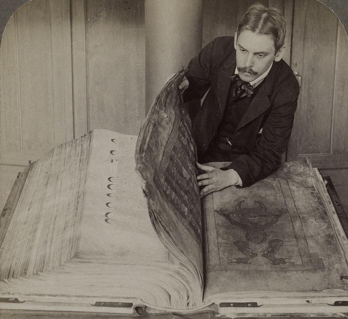 Кодекс Гигас - книга, которую еще называют «Библия Дьявола». | Фото: img1.liveinternet.ru.