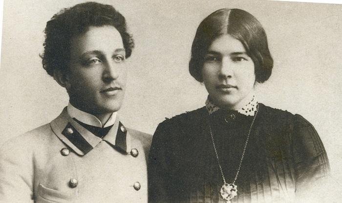 Александр Блок и Любовь Менделеева. | Фото: znanie.podelise.ru.