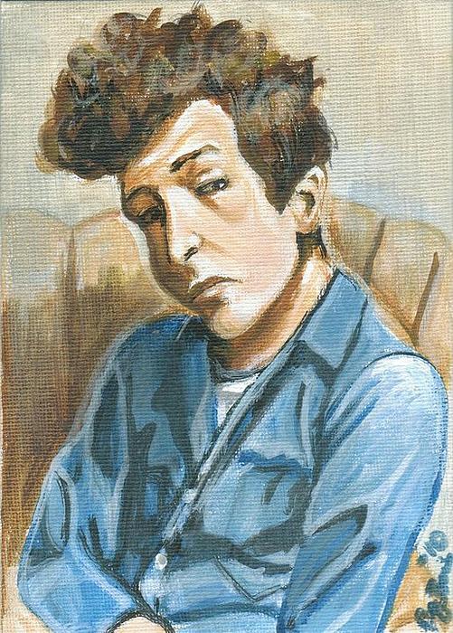 Автопортрет. Боб Дилан. | Фото: buro247.ru.