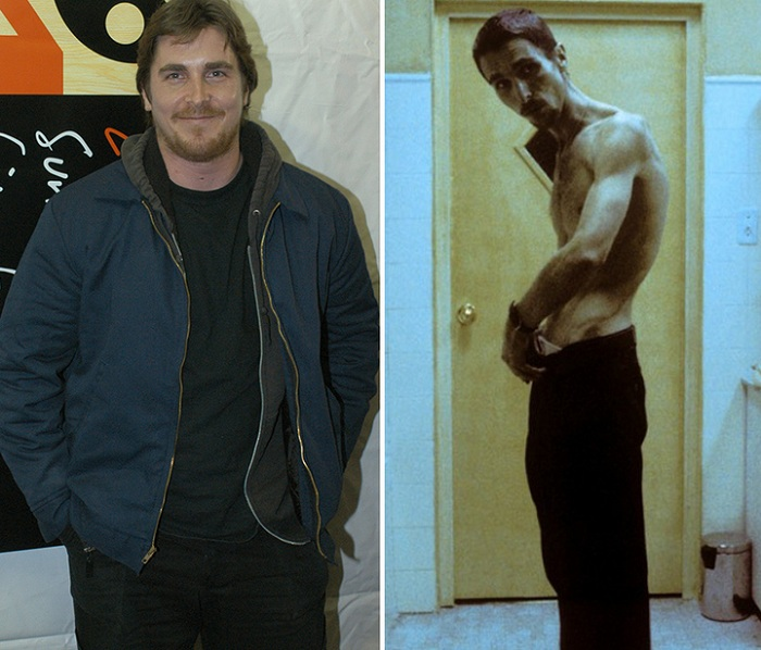 Актер Christian Bale ради роли похудел на 28,5 кг.