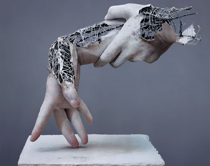 Реалистическая скульптура японского мастера.