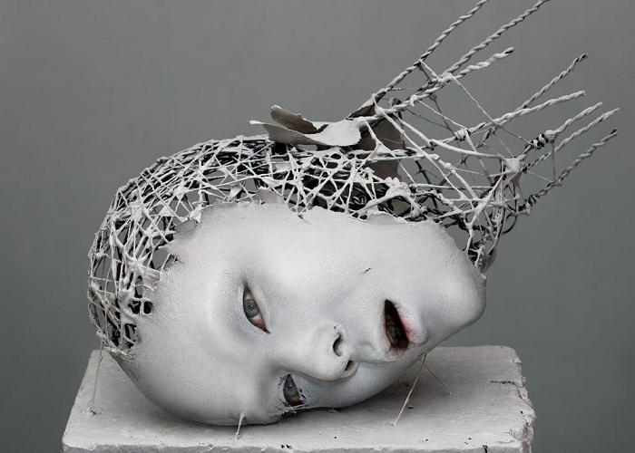 Скульптура японского мастера Yuichi Ikehata.