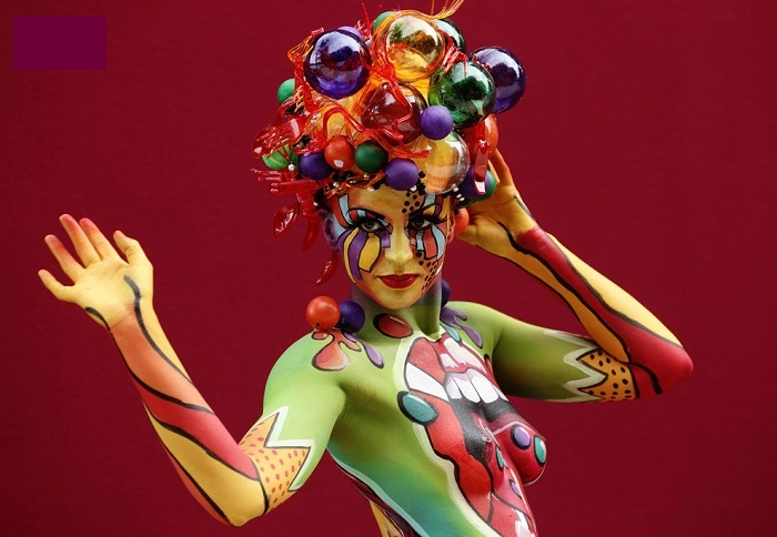 The World Bodypainting Festival 2014.