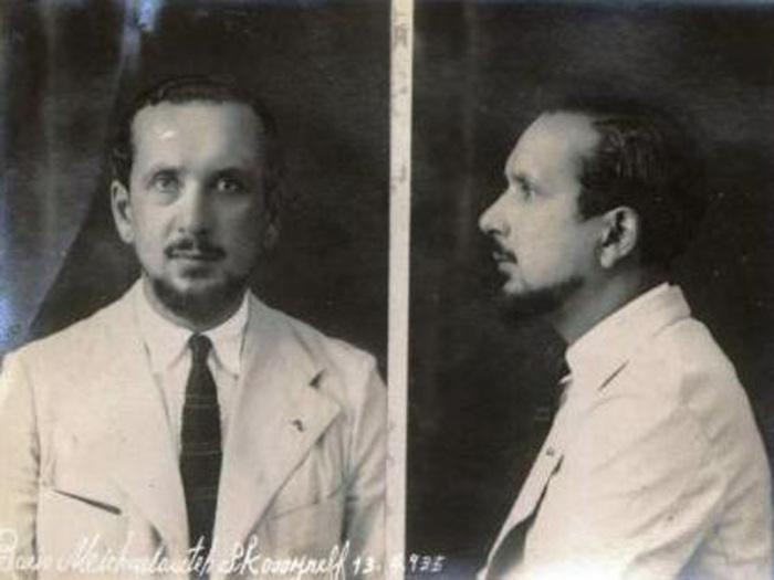 Борис Скосырев. 1935 год.   Фото: trendymen.ru.