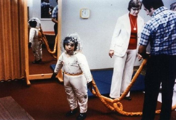 Детский скафандр, созданный специалистами NASA. | Фото: thejizn.com.