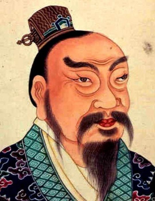 Император Гао-цзу Хань (III век до н.э.) | Фото: ekabu3.unistoreserve.ru.