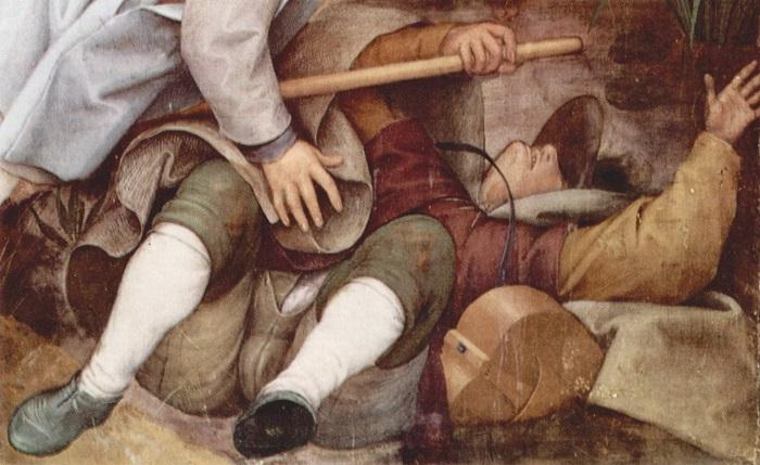 Слепые (Притча о слепых).  Фрагмент. | Фото: wmuseum.ru.
