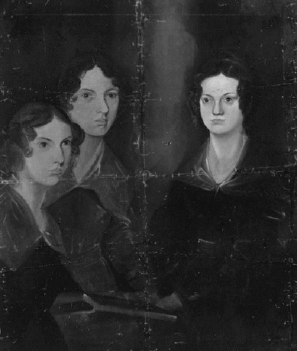 Сестры Шарлотта, Эмили и Энн Бронте. | Фото: mentalfloss.com.