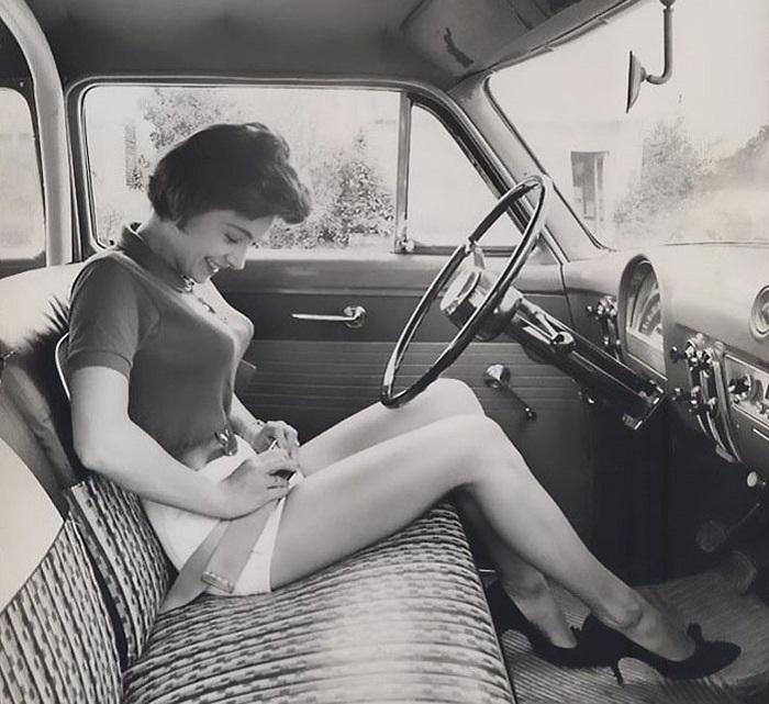 Образ типичной американки 1950-х годов. | Фото: boredpanda.com.