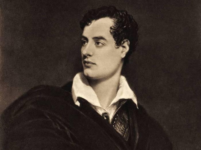 Лорд Джордж Байрон - английский поэт. | Фото: allday.com.