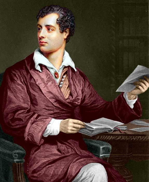 Лорд Джордж Байрон - английский поэт. | Фото: gaukartifact.com.