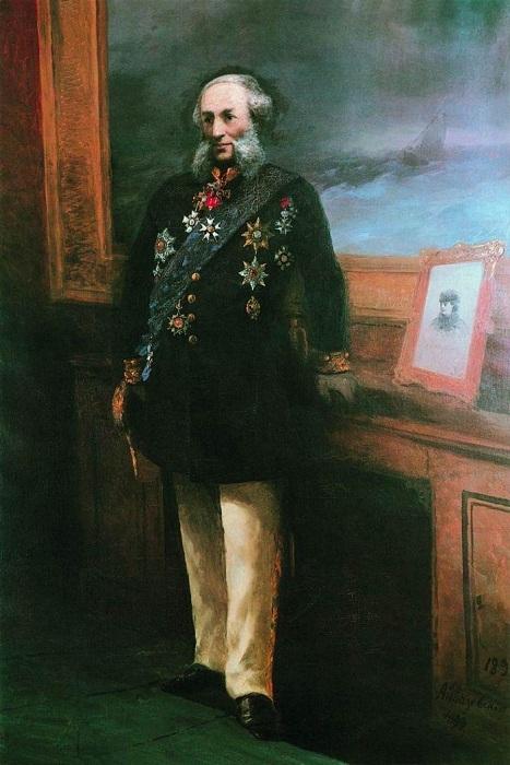 Иван Константинович Айвазовский - великий российский художник-маринист.