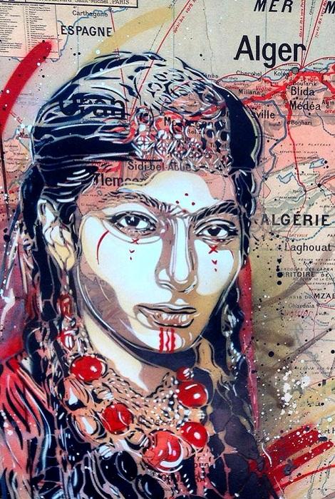 Творчество французского художника Christian Guemi.