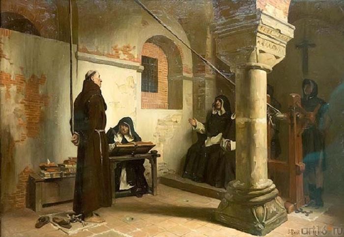 Испанская инквизиция совершала самые жестокие суды над неверными.