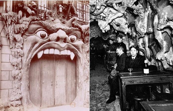 Cabaret de l'Enfer - Адское кабаре в Париже. 1890-е годы.