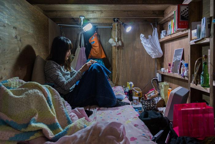 Капсульные отели в Японии.