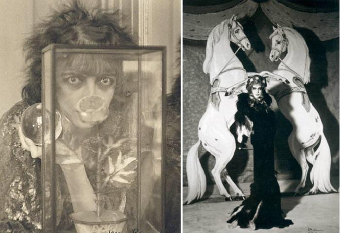 В начале ХХ века маркиза Казати эпатировала публику своим поведением. | Фото: names.ru.