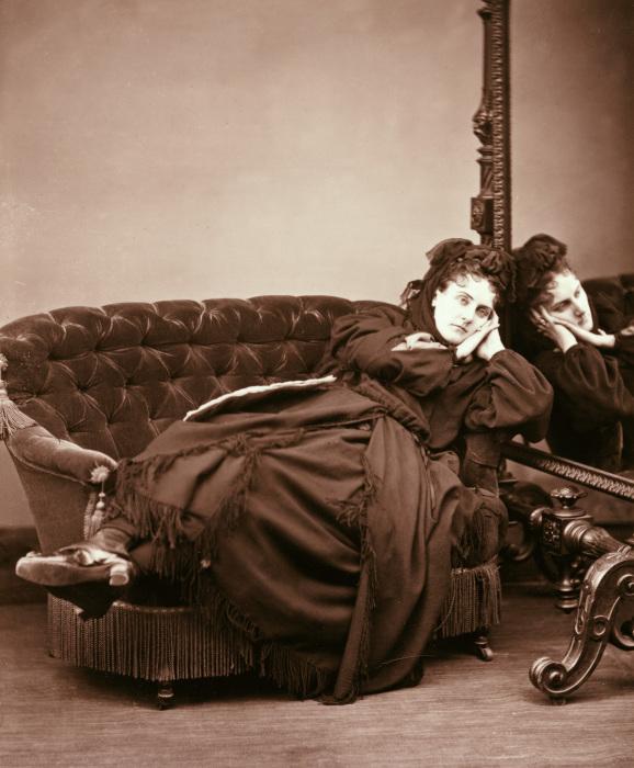 Графиня «отдыхает», 1867 год. | Фото: mbtimetraveler.com.