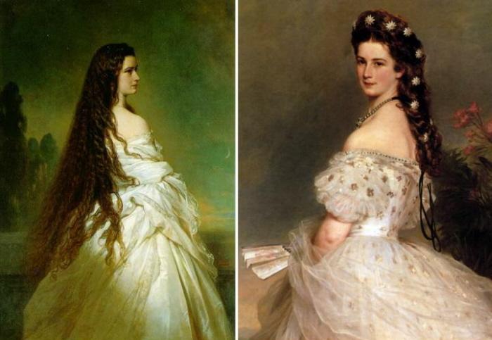 Сисси - австрийская императрица.
