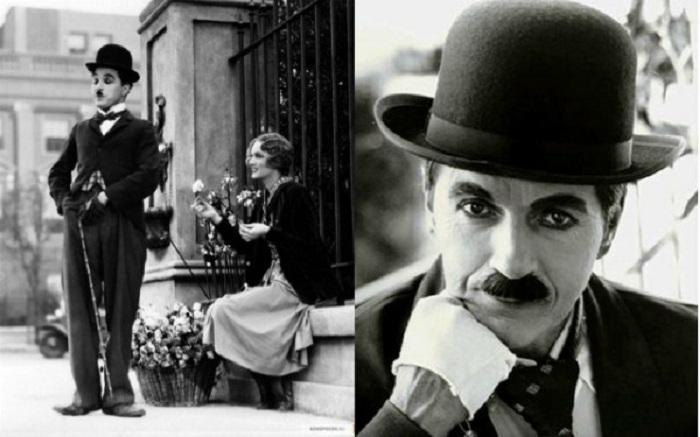 Чарли Чаплин в шляпе-котелке. | Фото: playcast.ru.