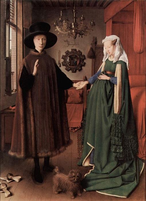 Портрет четы Арнольфини. Ян ван Эйк, 1434 год. | Фото: 5sec.info.