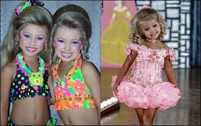 Маленькие участницы американских конкурсов красоты. | Фото: funguerilla.com.