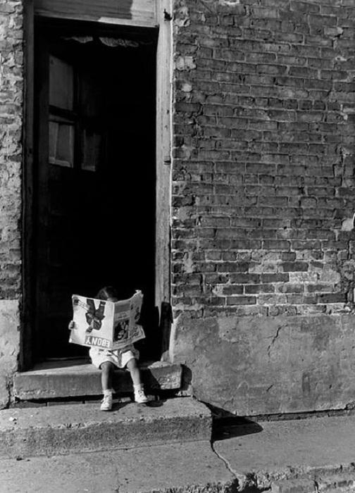 Ретро-фотография. Чикаго, 1947 год.