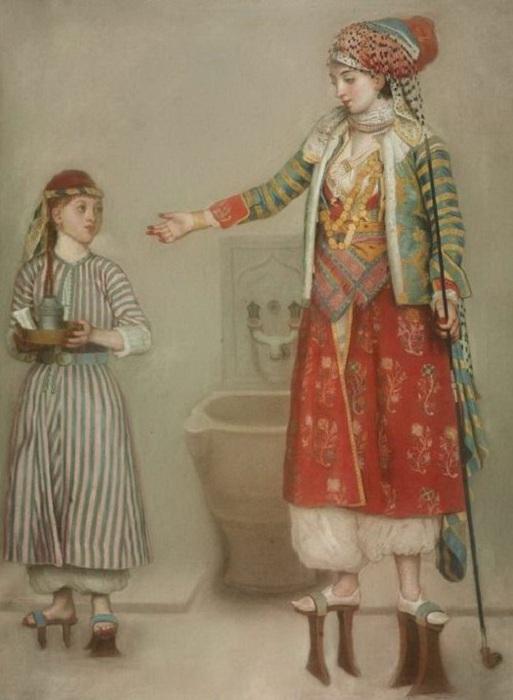 Ливанки в кабкабах, XIV-XVII вв. | Фото: colors.life.