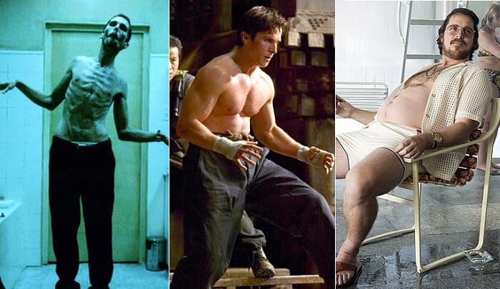 Невероятные метаморфозы с весом Кристиана Бейла.