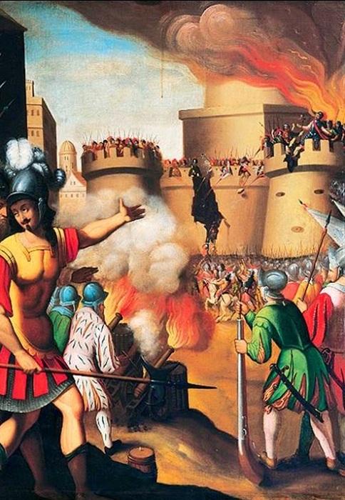 Ранение испанца Игнатия де Лойолы привело к созданию ордена иезуитов. | Фото: storyfiles.blogspot.com.