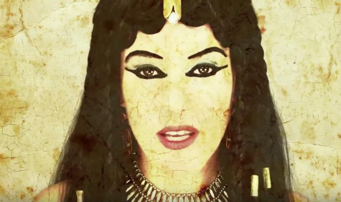 В Древнем Египте ярко красились и женщины и мужчины.