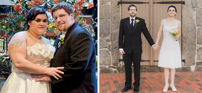 Пара сумела сильно похудеть всего за 1,5 года.