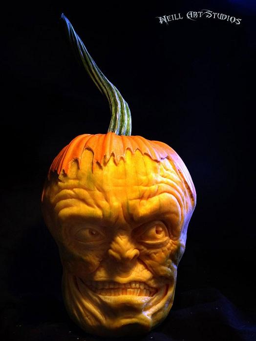 Jack o' Lanterns в исполнении американского художника Jon Neill.