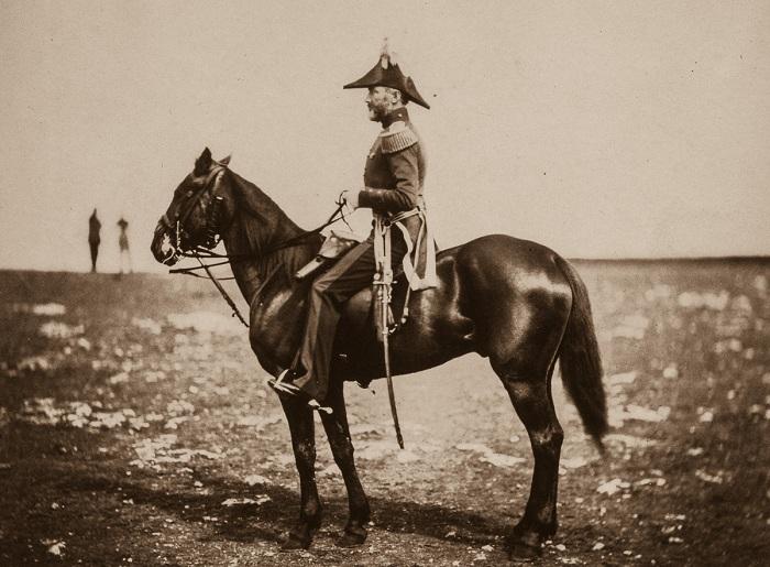 Генерал-майор сэр Джордж Буллер. Крымская война, 1855 год.