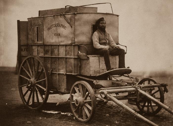 Фотографический фургон Роджера Фентона.