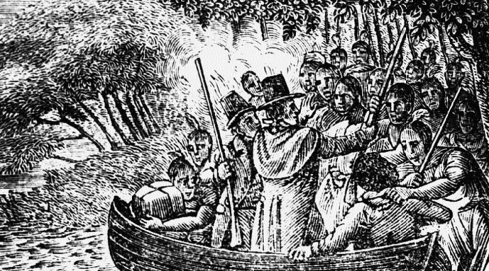 Массовый психоз - одна из версий исчезновения поселенцев на острове Роанок. | Фото: npmag.com.