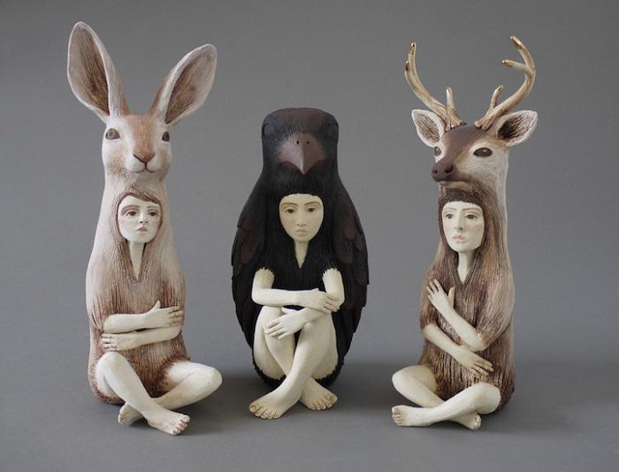 Керамические фигуры Crystal Morey.