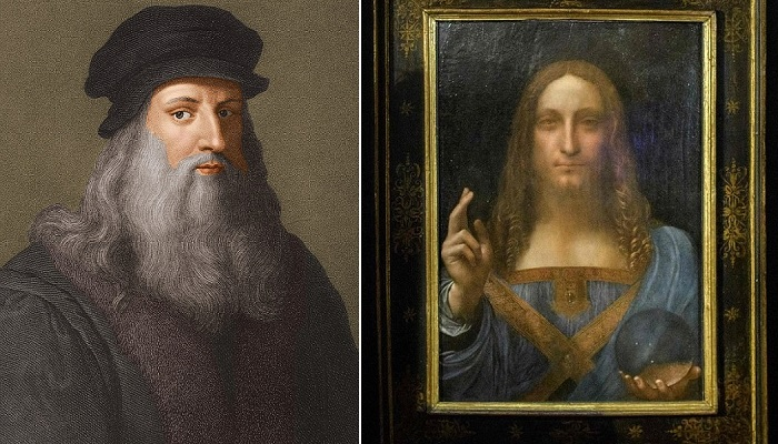 Леонардо да Винчи и его полотно «Спаситель Мира».